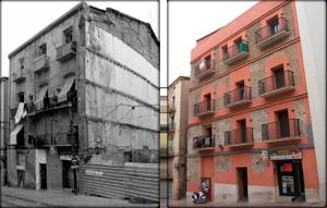 Abans i després de la rehabilitació